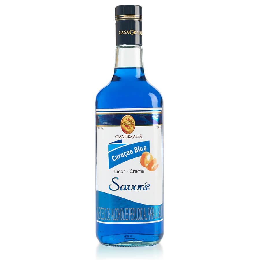LICOR CURAÇAO BLUE SAVOR'S